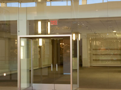 glass retail reinstatement