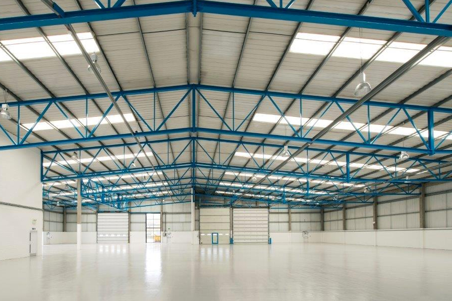 industrial warehouse reinstatement